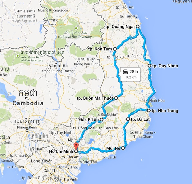 Saigon Challenge Cycling To Central Highland Vietnam Highland Cycle