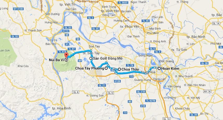Hanoi – Son Tay – Tan Da Bike Tour – 1 Days