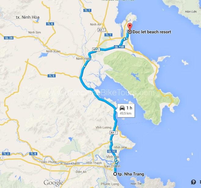 Map - Nha Trang - Doc Let