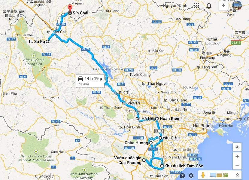 Cycling to Ninh Binh and Sapa Tour – 6 Days