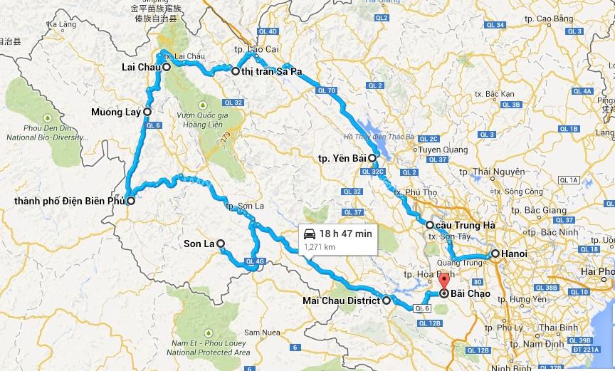 Northwest of Vietnam Bike Tour – 9 days